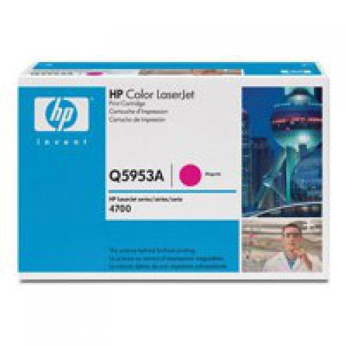 HP Q5953A 643A Magenta Toner 10K