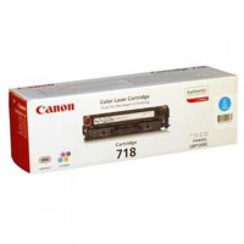Canon 2661B002 718 Cyan Toner 2.9K