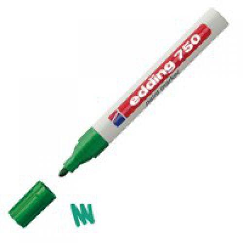 Edding 750 Paint Marker Med Green Pk10