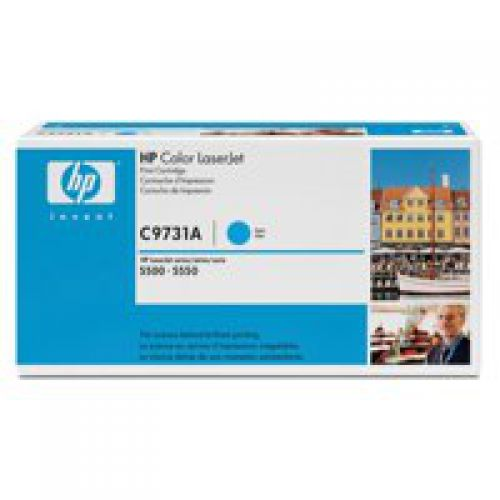 HP C9731A 645A Cyan Toner 12K