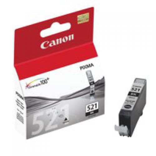 Canon 2933B001 CLI521 Black Ink 9ml