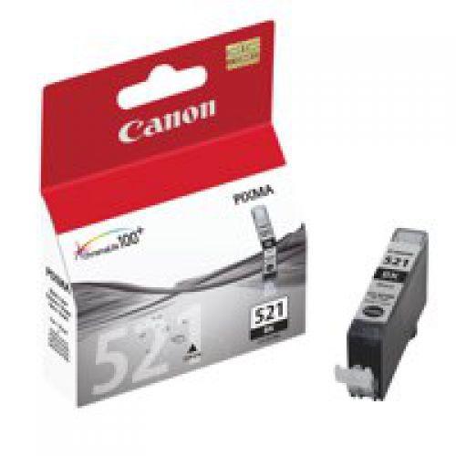 Canon 2933B001 CLI521 Black Ink 9ml
