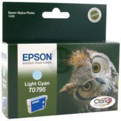 Epson C13T07954010 T0795 Light Cyan Ink 11ml