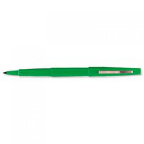 Paper Mate Flair Original Felt Tip Pen Medium Green PK12