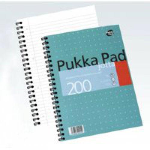 Pukka Pad A4 Jotta Pad Wirebound Ruled 200 Page PK3