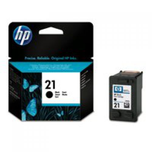 HP C9351A 21 Black Ink 5ml