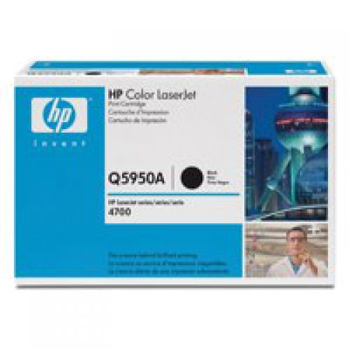 HP Q5950A 643A Black Toner 11K