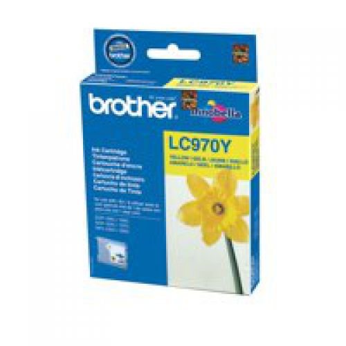 Brother LC970Y Yellow Ink 8ml