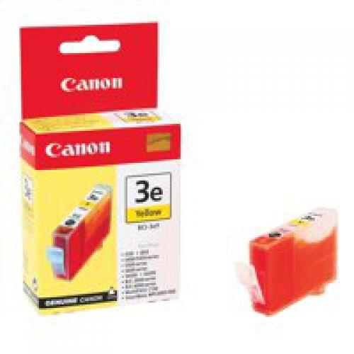Canon BCI-3eY Yellow Inkjet Cartridge