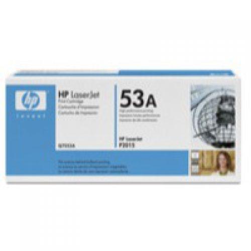 HP Q7553A 53A Black Toner 3K