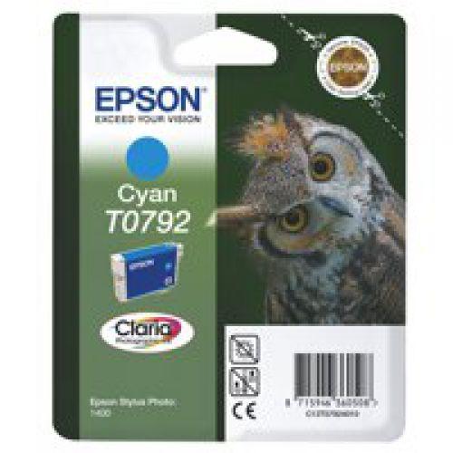 Epson C13T07924010 T0792 Cyan Ink 11ml