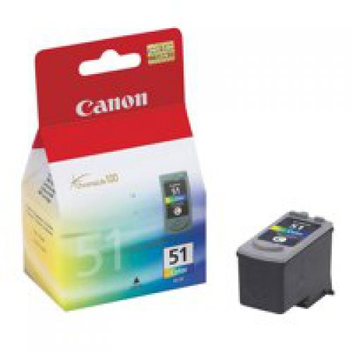 Canon 0618B001 CL51 Colour Printhead 21ml