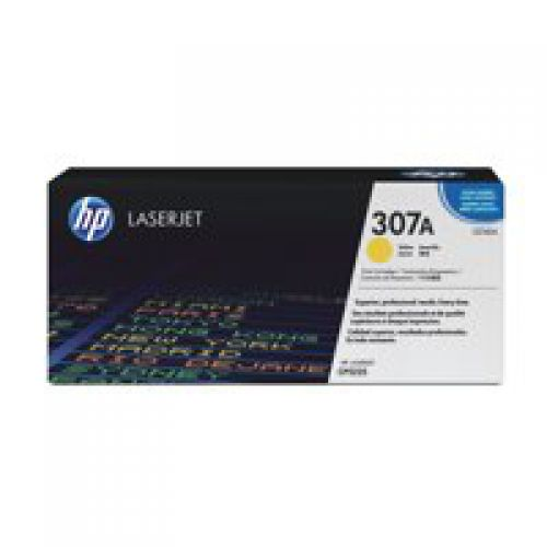 HP CE742A 307A Yellow Toner 7.3K