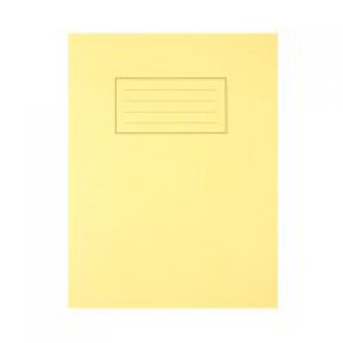 Silvine 9x7 Exercise Book Ruled Yellow PK10