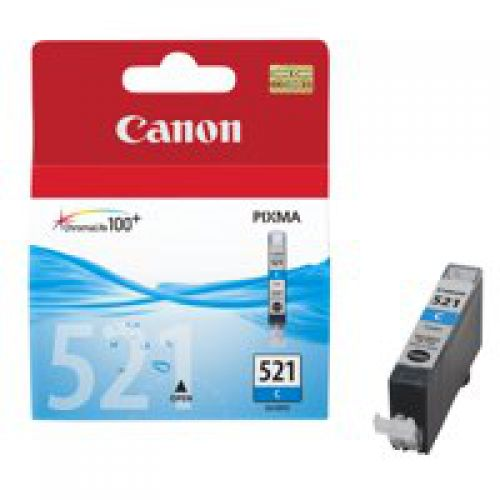 Canon 2934B001 CLI521 Cyan Ink 9ml