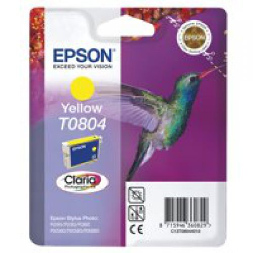Epson C13T08044011 T0804 Yellow Ink 7ml