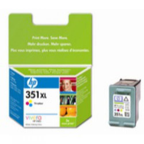 HP CB338E 351XL Tricolour Ink 14ml
