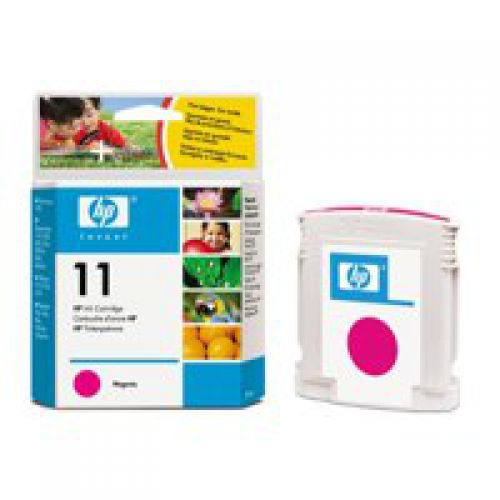 HP C4837A 11 Magenta Ink 28ml