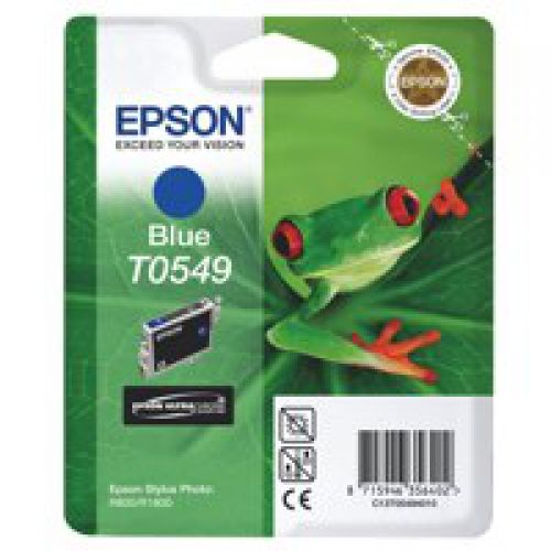 Epson C13T05494010 T0549 Blue Ink 13ml