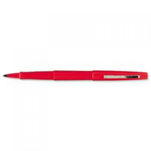 Paper Mate Flair Original Felt Tip Pen Medium Red PK12
