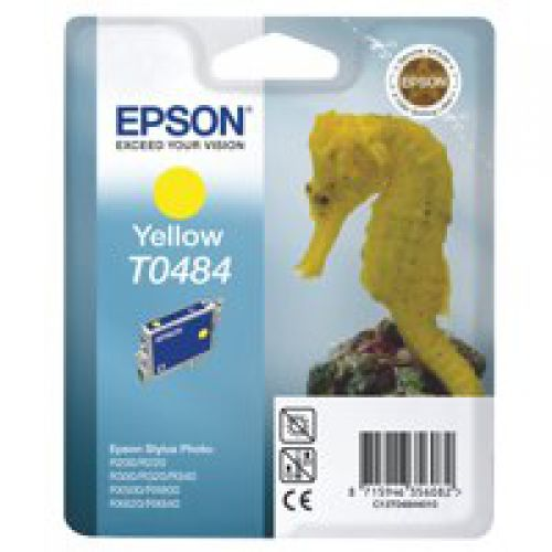 Epson C13T04844010 T0484 Yellow Ink 13ml