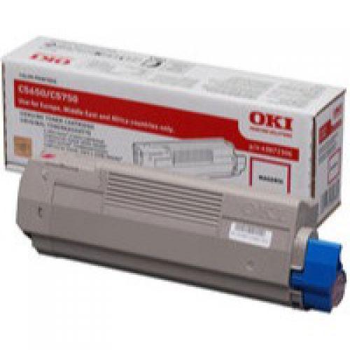 OKI 43872306 Magenta Toner 2K