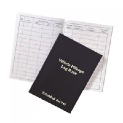 Image for Guildhall Vehicle Mileage Log Book T43