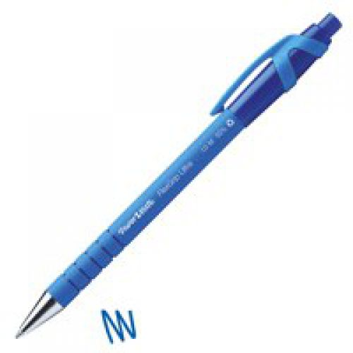 Paper Mate Flexgrip Ultra Medium Tip 1.0 mm Blue Ink PK12