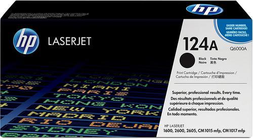 HP Q6000A 124A Black Toner 2.5K