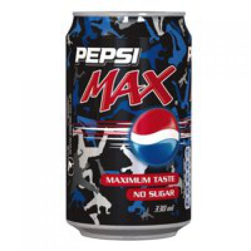 Pepsi Max 330ml Cans (Pack 24)