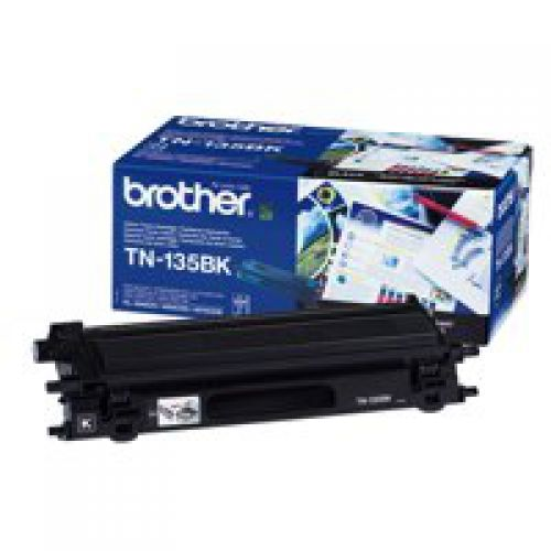 Brother TN135BK Black Toner 5K