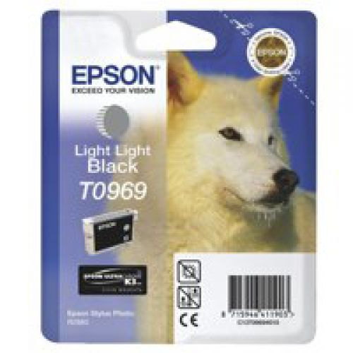 Epson C13T09694010 T0969 Light Light Black Ink 11ml