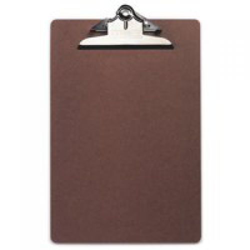 Image for Rapesco Hardboard Clipboard A4 Foolscap Brown VHBCB003