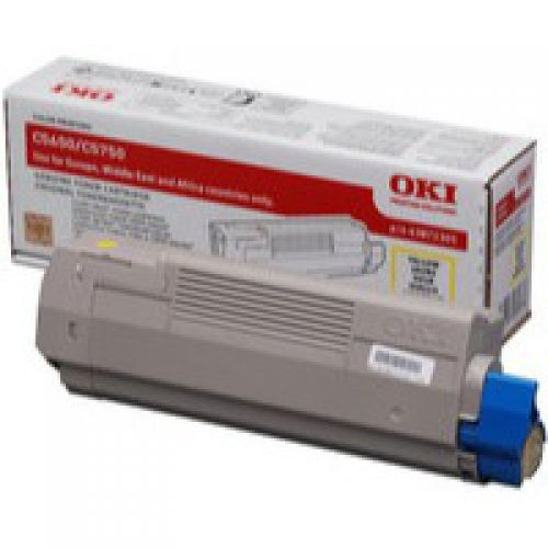 OKI 43872305 Yellow Toner 2K