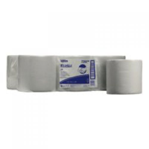 Wypall L10 Wipers Centrefeed Roll White Pack 6 Code 7266