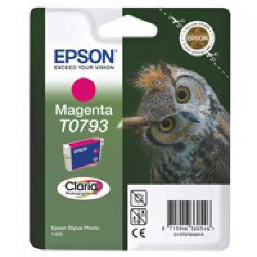 Epson C13T07934010 T0793 Magenta Ink 11ml