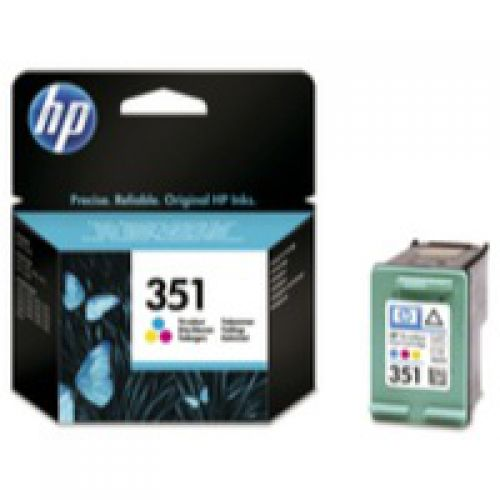 HP CB337E 351 Tri Col Ink 4ml