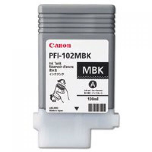 Canon 0894B001 PFI102 Matte Black 130ml