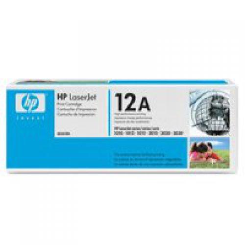 HP Q2612A 12A Black Toner 2K
