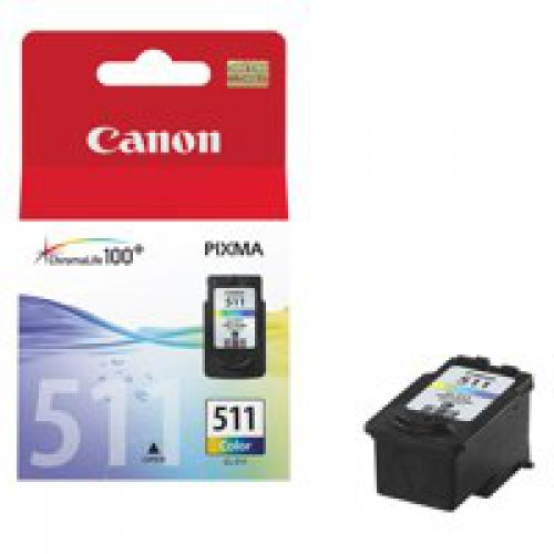 Canon 2972B001 CL511 Colour Printhead 9ml