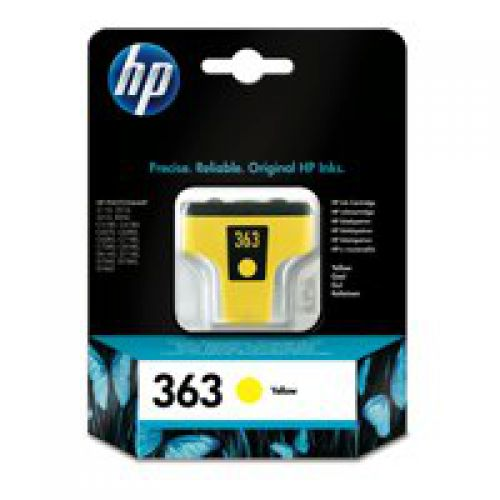 HP C8773E 363 Yellow Ink 4ml