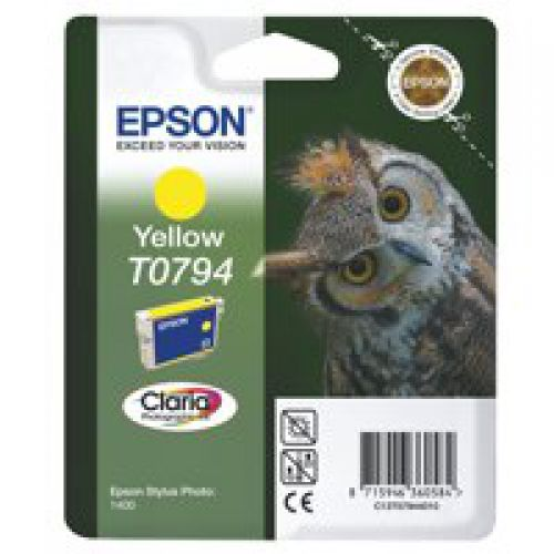 Epson C13T07944010 T0794 Yellow Ink 11ml