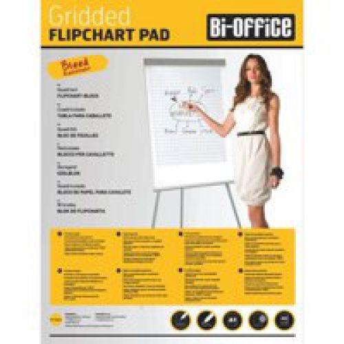 Bi-Office Flipchart Pads A1 Plain Code FL010101