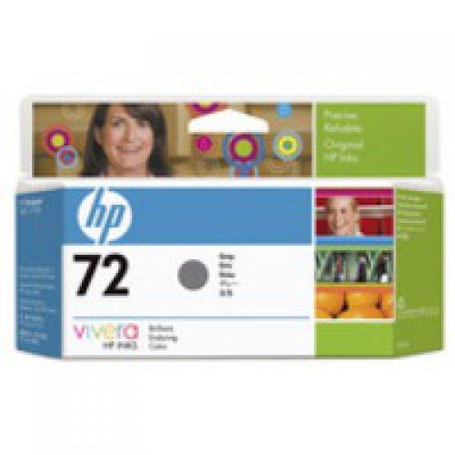 HP C9374A 72 Grey Ink 130ml