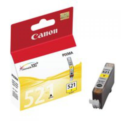 Canon 2936B001 CLI521 Yellow Ink 9ml