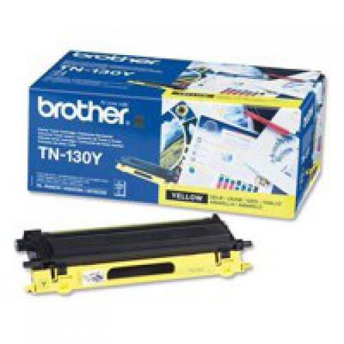 Brother TN130Y Yellow Toner 1.5K