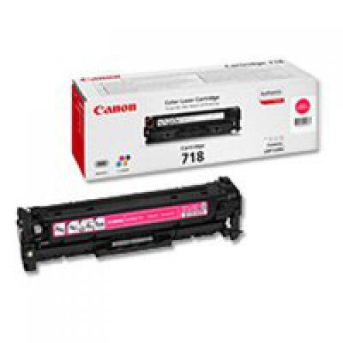 Canon 2660B002 718 Magenta Toner 2.9K