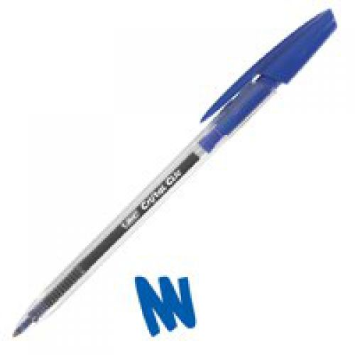 Bic Cristal Clic Retractable Pen Blue (Pack 20)