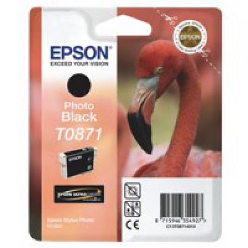Epson C13T08714010 T0871 Photo Black Ink 11ml