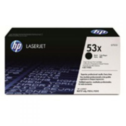 HP Q7553X 53X Black Toner 7K